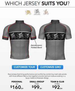 Team Cycling Tour Jersey