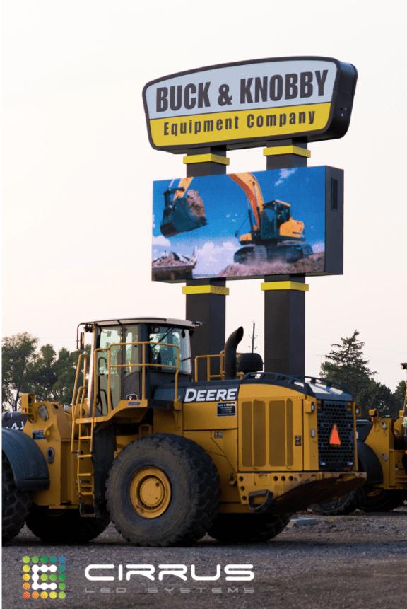 Cirrus LED outdoor video signage.
