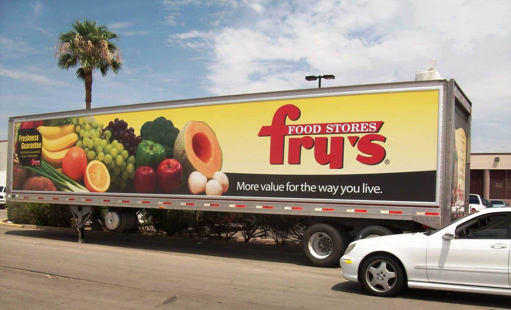 mobile billboard advertising system