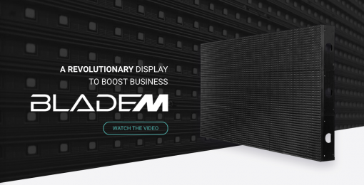 Cirrus BladeM revolutionary LED signage display