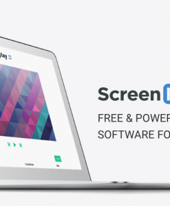 Manage digital signage content with ScreenHub cloud software.