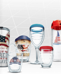 American style graphic tumbler store.