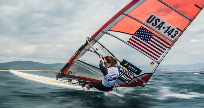 wind surf sail numbers
